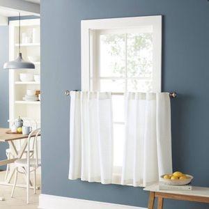 "Threshold honeycomb cafe curtains 36"""